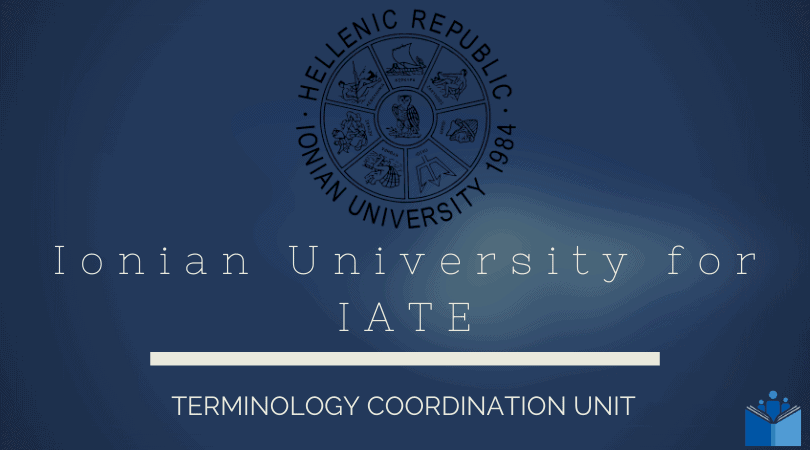 Ionian University for IATE feature