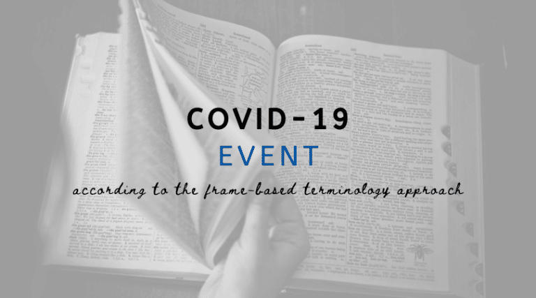 COVID-19 Event: a Frame-Based Terminology Approach