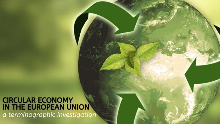 Circular Economy in the EU: a Terminographic Investigation