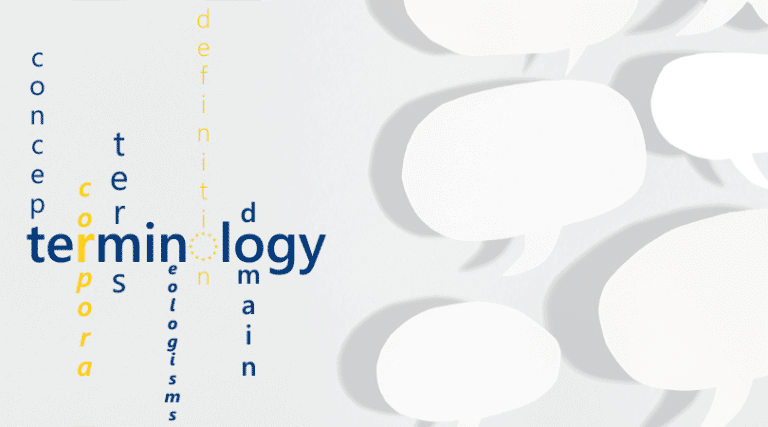 Terminology: an Introduction