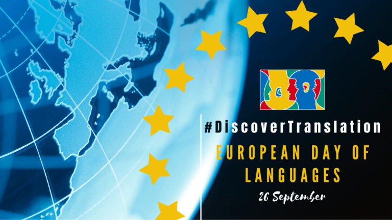 Discover Translation for this year's European Day of Languages