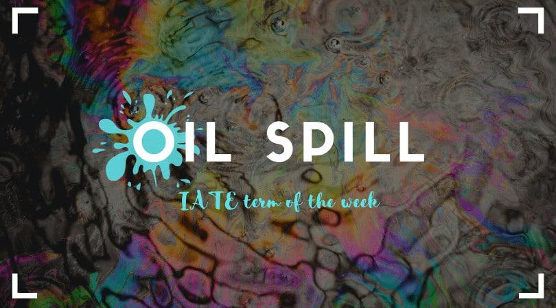 IATE Oil Spill feature