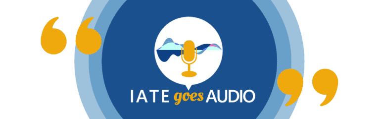 IATE goes AUDIO page header 1 768x240 1