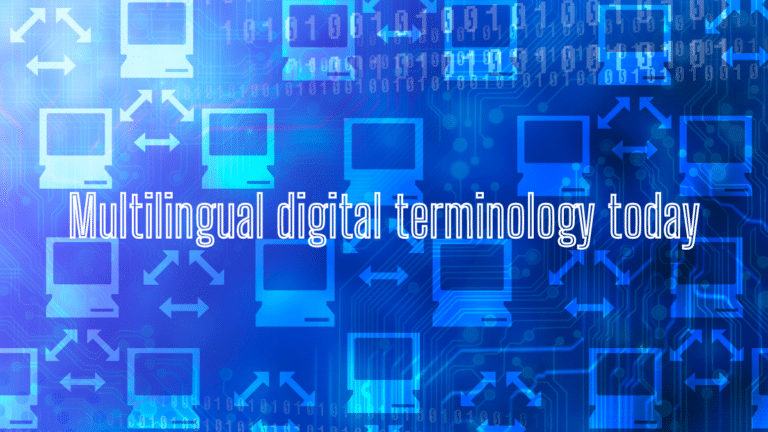 Multilingual digital terminology today: call for papers
