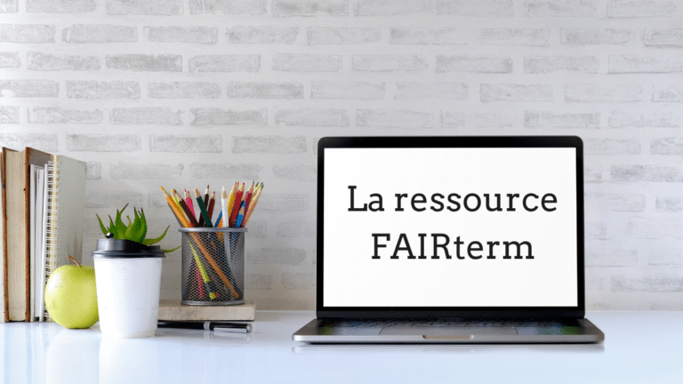 La ressource FAIRterm