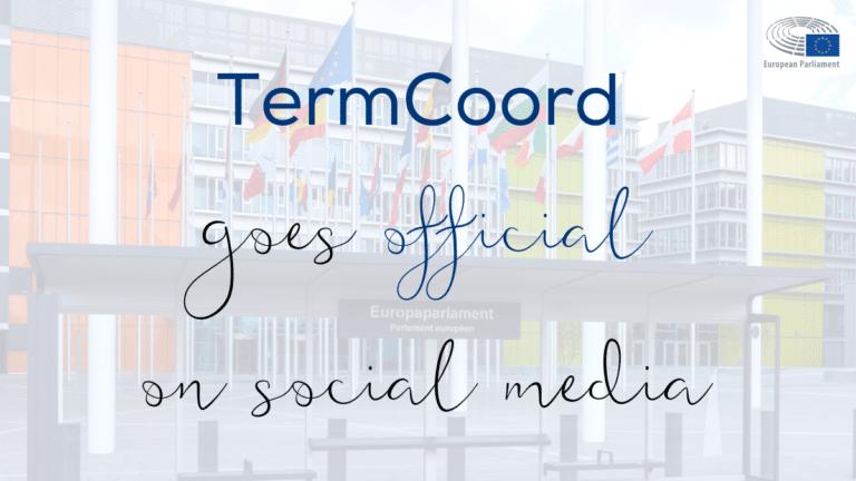 TermCoord goes official on social media!